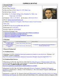 fillable online curriculum vitae works bepress com fax email