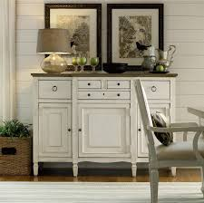 country chic maple wood white buffet server cabinet driftwood