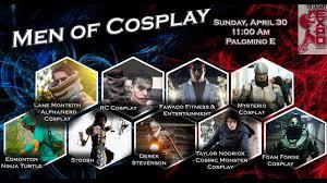 home and design expo calgary men of cosplay calgary comic and entertainment expo 2017 youtube