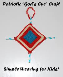 wikki stix patriotic ojo de dios god u0027s eye craft for kids