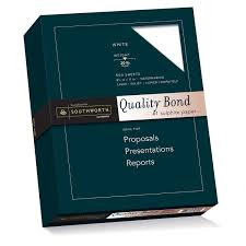 amazon com southworth quality bond paper 8 5 x 11 inches 20 lb