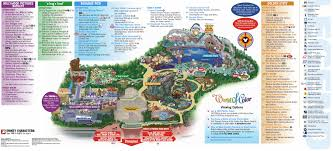 Printable Map Of Disney World by Disneyland City Hall