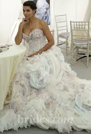 multi color wedding dress multi colored wedding gowns with tons of personality 2366497