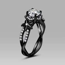 black wedding rings black wedding rings best photos wedding ideas