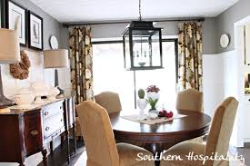 southern dining rooms floral drapes in the dining room southern hospitality