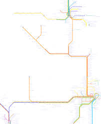 Train Map Of America by Train Map Of Eastern Australia And Northern New South Wales