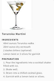 vodka martini with olives torunska vodka torunskavodka twitter
