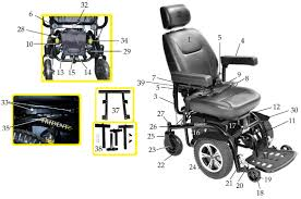 trident front wheel drive power chair drive medical