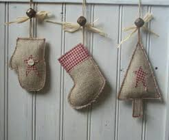 burlap ornaments dma homes 12728