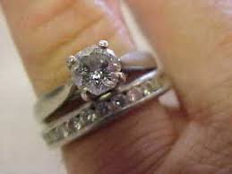 zales wedding ring sets zales platinum octillion cut ring set size 7 make offer ebay