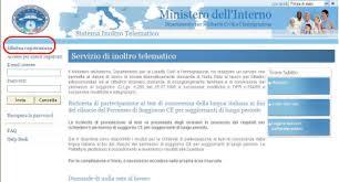 carta di soggiorno cos祠 si prenota il test di italiano il