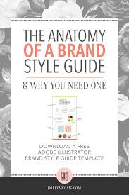 having a brand style guide is a necessity to ensure that there is