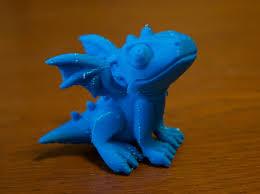 free cute dragon stl model cults