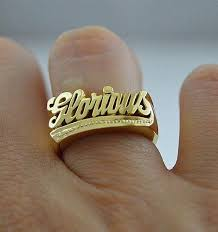 name ring custom name ring gold silver gvantsas designs