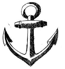 25 best black anchor tattoo drawings images on pinterest anchor