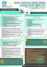 artikel format paper ilmiah lomba penulisan artikel ilmiah sekolah dasar tahun 2017 lomba today