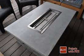 outdoor gas fire pit table modern how to make an outdoor gas fireplace with diy pete build a