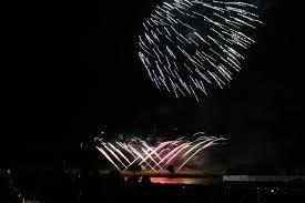 chagne bottle fireworks firework chions at belvoir castle no half measures