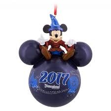 sorcerer mickey mouse icon ornament disneyland 2017 ornamente