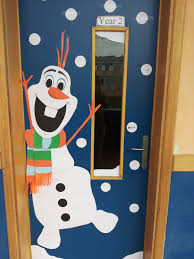 snowman christmas door decorations u2013 happy holidays