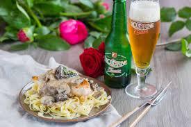 reduction cuisine addict chicken in and mushrooms sauce cuisine addict