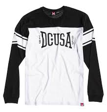 ls online promo code dc cheap sports shoes dc rd wild card ls tee black white shirts