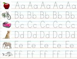 free printable alphabet practice worksheets 3 worksheets