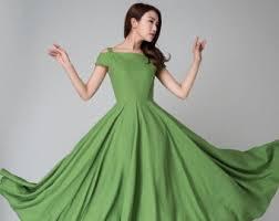 long linen dress beige linen maxi dress linen clothes for