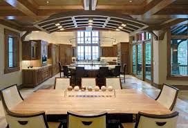 dining room kitchen island shapes with tufted chair and window