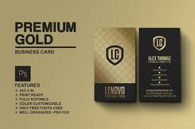 premium gold and black business card business card templates