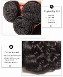 Double Weft Hair Extensions by Natural Wave Virgin Hair 3pcs Brazilian Virgin Hair Brazilian More