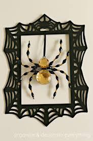 Halloween Spider Wreath by Spider Frame Wreath Organize And Decorate Everything