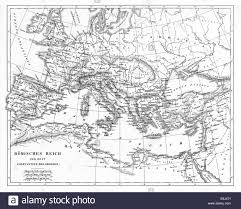 Literature Map Engraved Illustration Of A Map Of Roman Empire From Iconographic