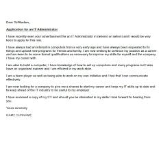 luxury cover letter for it administrator 16 with additional