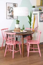 dining room table accents dining room pink and brown tables chairs simple ideas design