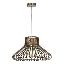 ribbon pendant ceiling light lugo easy fit antique brass metal ribbon pendant shade