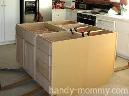 make a kitchen island how to build a kitchen island with base cabinets build kitchen