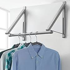 amazon com over the door collapsible closet rod in silver 1
