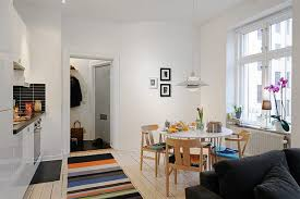 Well Planned Small Apartment With An Inviting Interior Design - Small apartment interior design