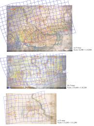 Isoline Map Analysis Of Pre Geodetic Maps In Search Of Construction Steps