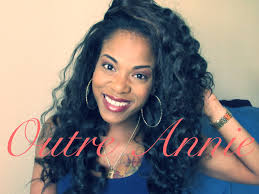 partial sew in hairstyles for synthetic hair outre annie upgrade synthetic half wig black hair naturally