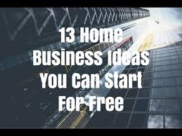 Graphic Design Home Business Ideas 13 Home Business Ideas You Can Start For Free Youtube
