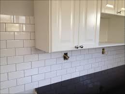 Mini Subway Tile Kitchen Backsplash by Kitchen White Glass Subway Tile Backsplash Mini Subway Tile Gray