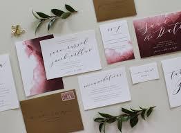 watercolor wedding invitations watercolor wedding invitations luxury custom calligraphy wedding