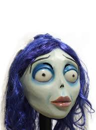 corpse bride halloween makeup corpse bride classic latex mask