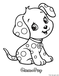 puppy printable coloring pages free printable puppies coloring