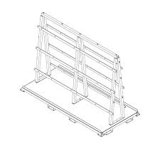 a frame cart ah 1200 americanhawk industrial products