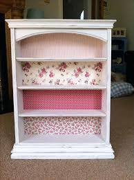 bookcase shabby chic white bookshelves simply shabby chic small
