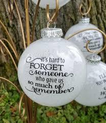 large glitter memorial ornament memorial ornaments ornament and