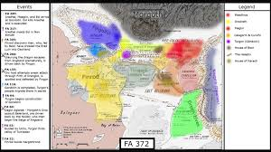 Lord Of The Rings World Map by Animated Silmarillion Map Youtube